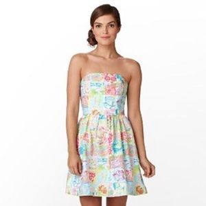 LILLY PULITZER | State of Mind Strapless Dress 4